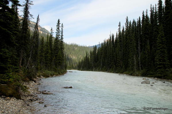Yoho River and its Valley