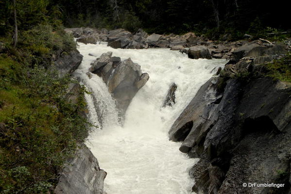 Cascade in the Yoho River