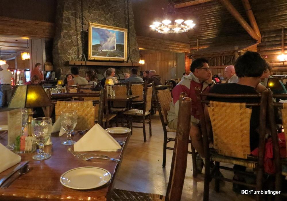 Old Faithful Inn Yellowstone National Park Where Gumbo Was 48 Magnificent Old Faithful Inn Dining Room Menu