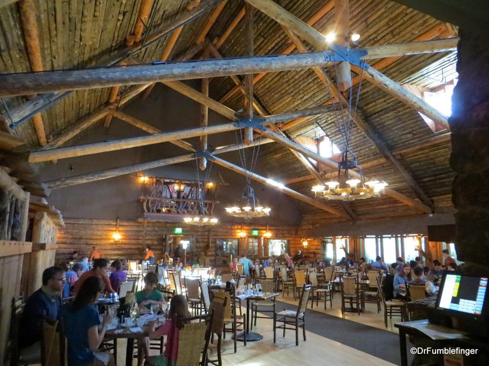 Old Faithful Inn Yellowstone National Park Where Gumbo