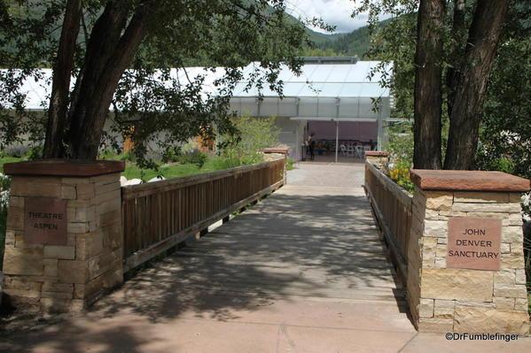 Entrance to the John Denver Sanctuary, Aspen