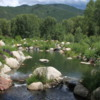 Rio Grande adjoining John Denver Sanctuary, Aspen