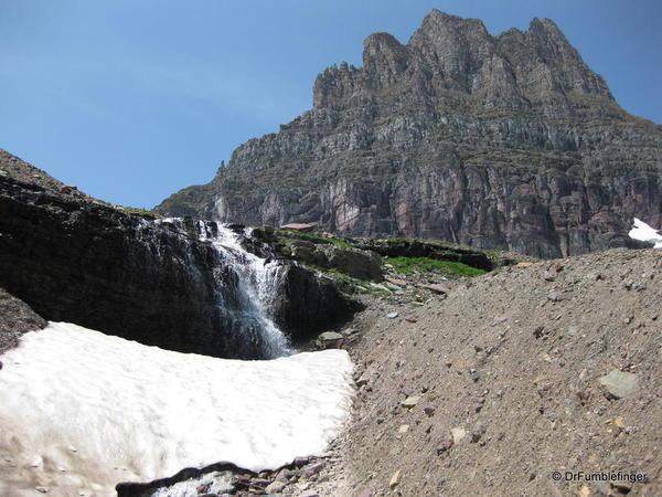 Glacier National Park -- Clements Mountain, near Logan Pass