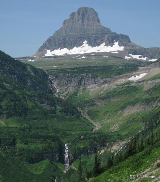 Glacier National Park -- Logan's pass area