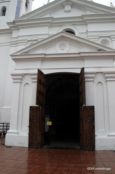 Entryway, The Church of Our Lady of Pilar, Recoleta