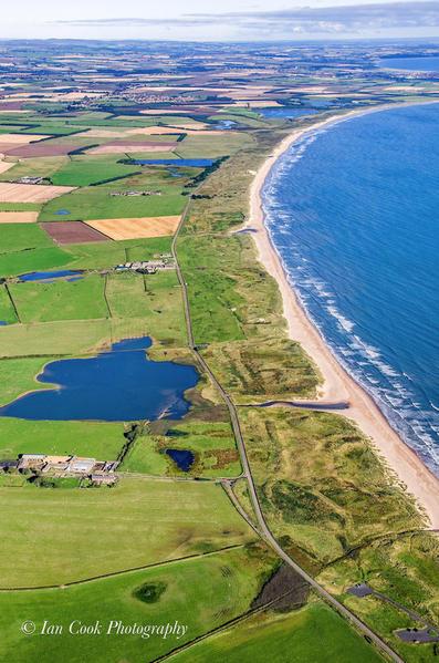 Druridge Bay, Northumberland, England