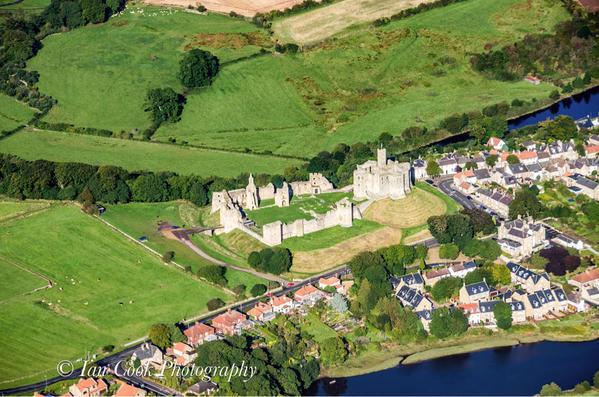 Warkworth Castle. Northumberland, England