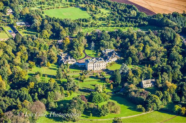 Howick Hall, Northumberland, England
