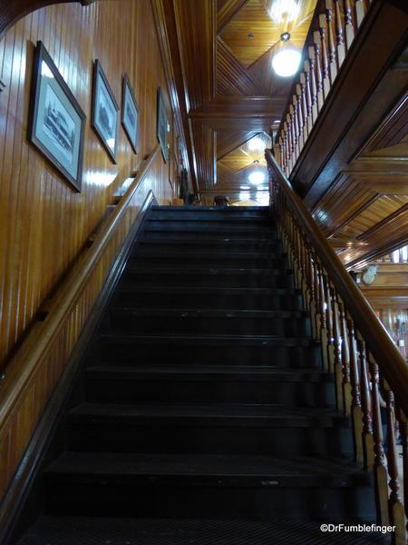 Banff Park Museum, Wood details