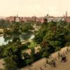 Saint Stephen's Green Park, Dublin (1899).  Public Domaine