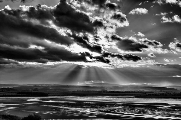 Budle Bay. Northumberland, England
