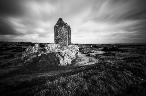 Smailholm Tower. Scottish Borders. Scotland
