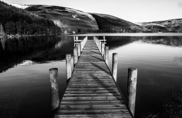 St Mary's Loch. Scottish Borders. Scotland