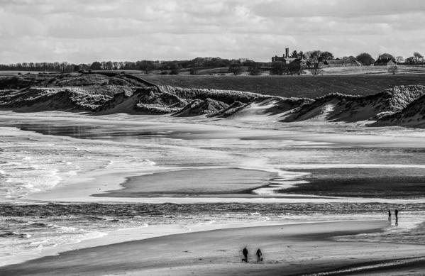Warkworth Beach. Warkworth. England