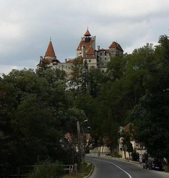 01 Bran Castle on the Hill