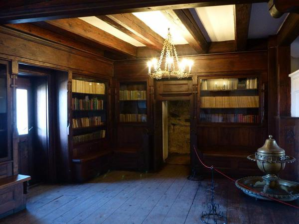 07 The Library in Bran Castle