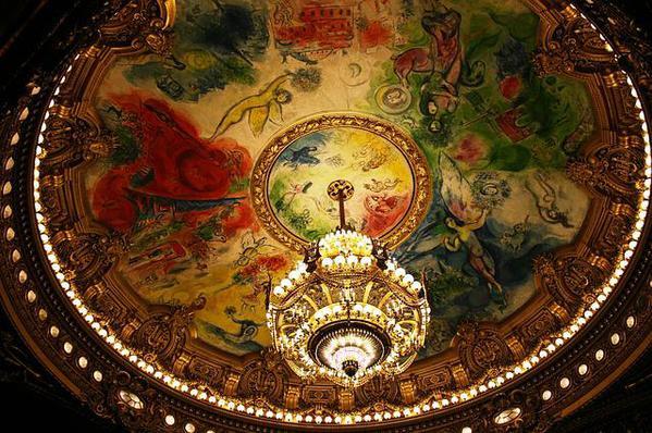 opera chandelier