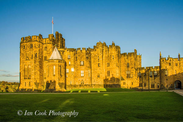 Photo 03-11-2015, 14 16 29 Alnwick Castle The Keep at sunset