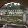 28 2015-11 Guatemala Antigua Church and Convent of Capuchins 21: View of the courtyard of the Convent of Santa Clara