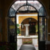 34 2015-11 Guatemala Antigua Doors and Courtyards 11: A quite courtyard in a home