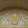 63 2015-11 Guatemala Antigua La Merced Church 13: Corn carvings on the entry of the La Merced Church
