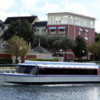 Boats will take you around Walt Disney World, Florida