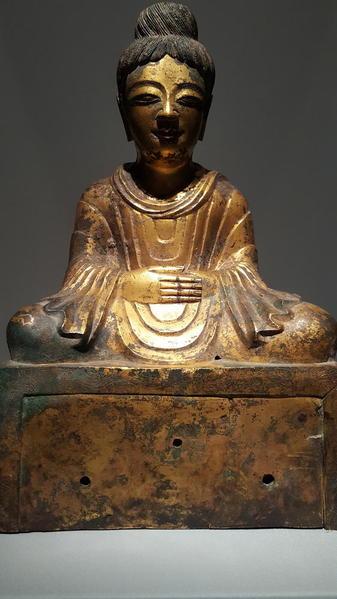20151202_Asian Art Museum Statues 01 Chinese Buddha 336