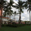 Beachside dining, Royal Hawaiian Hotel, Waikiki, Oahu