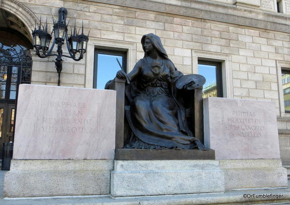01 Boston Public Library entrance