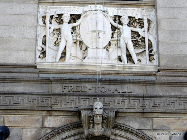 03 Boston Public Library entrance