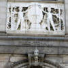 Boston Public Library entrance