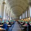 Boston Public Library.  Bates Hall