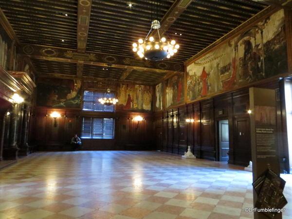 20 Boston Public Library. Abbey Room Murals