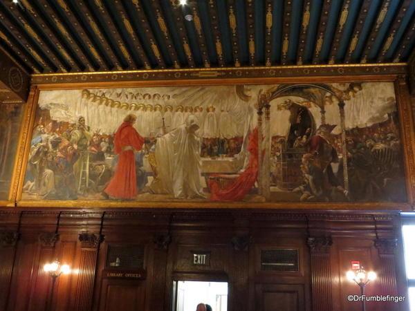 23 Boston Public Library. Abbey Room Murals