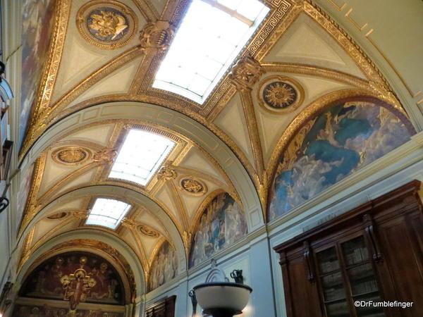 28 Boston Public Library. Sargent Gallery Murals