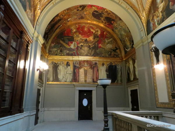 30 Boston Public Library. Sargent Gallery Murals