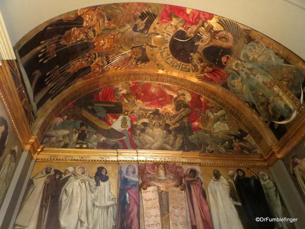 31 Boston Public Library. Sargent Gallery Murals