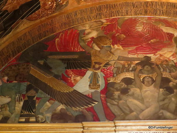 34 Boston Public Library. Sargent Gallery Murals