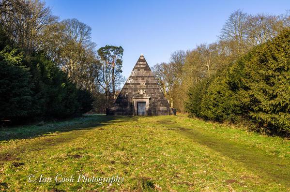 Pyramid at Blickling Estate