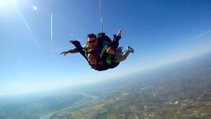 My first time skydiving essay