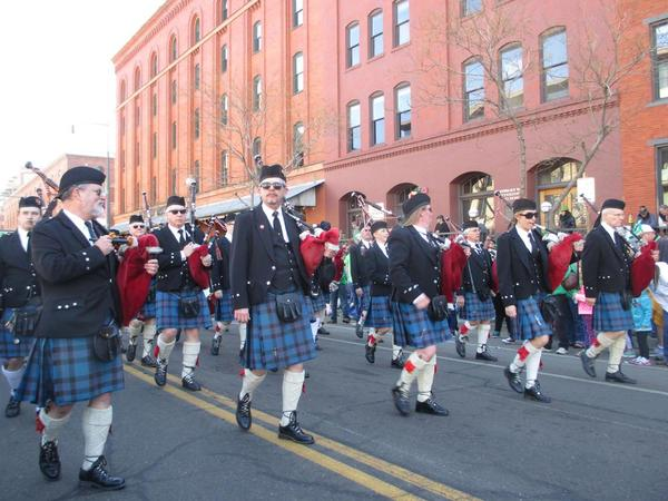 St. Patricks Day - Bagpipes