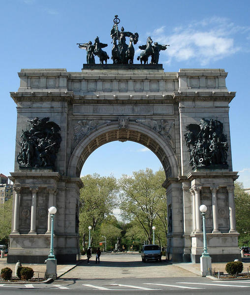 867px-The_Soldiers_and_Sailors_Memorial_Arch_at_Grand_Army_Plaza Jeffrey Gustafson
