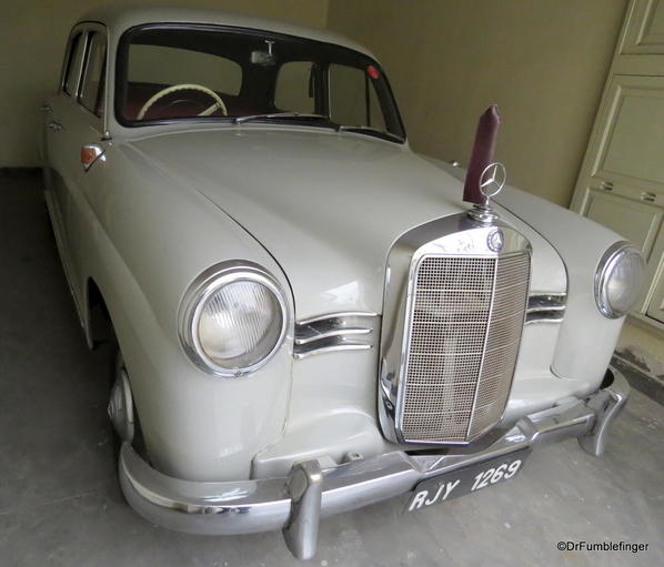 1956 Mercedes 180D (3)