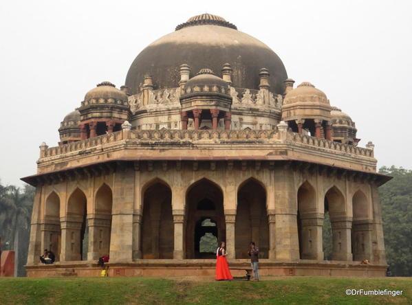 46 Lodhi Gardens, Muhammad Shah's Tomb. Delhi 02-2016