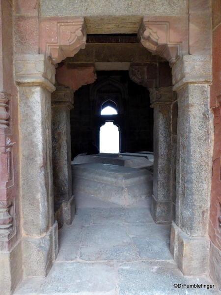 47d Lodhi Gardens, Muhammad Shah's Tomb. Delhi 02-2016