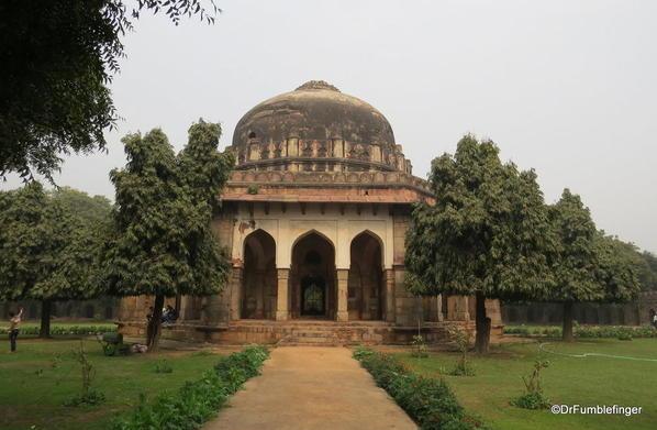 58 Lodhi Gardens, Sikander Lodhi's Tomb. Delhi 02-2016