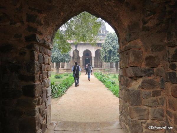 60 Lodhi Gardens, Sikander Lodhi's Tomb. Delhi 02-2016