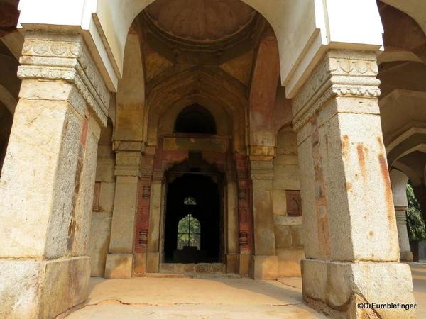 61 Lodhi Gardens, Sikander Lodhi's Tomb. Delhi 02-2016