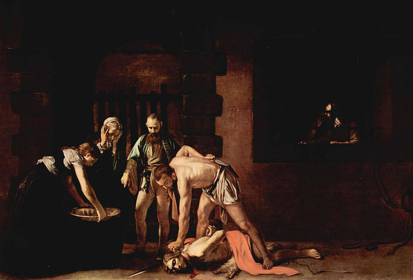 Caravaggio's Beheading of St. John the Baptist