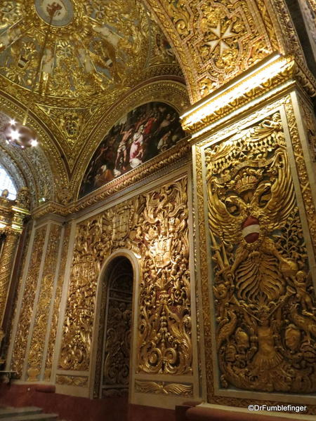 29 St John's Co-Cathedral, Valleta. Chapel of Germany